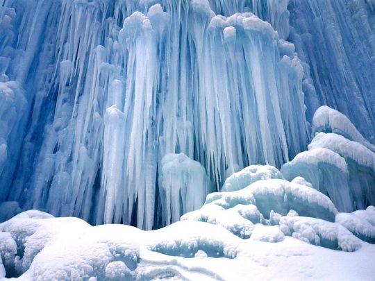 Ice Castle Waterfall