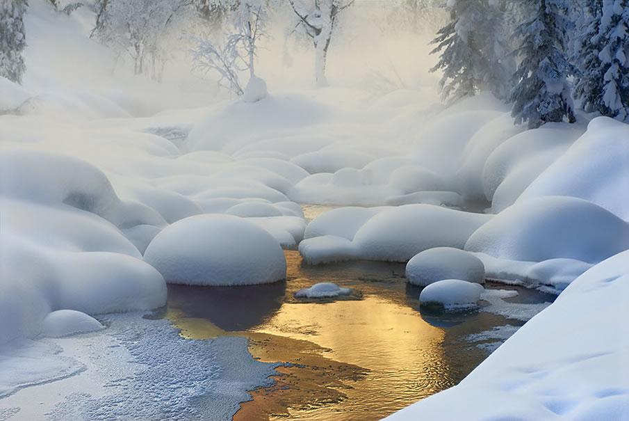Siberia. -37 degrees