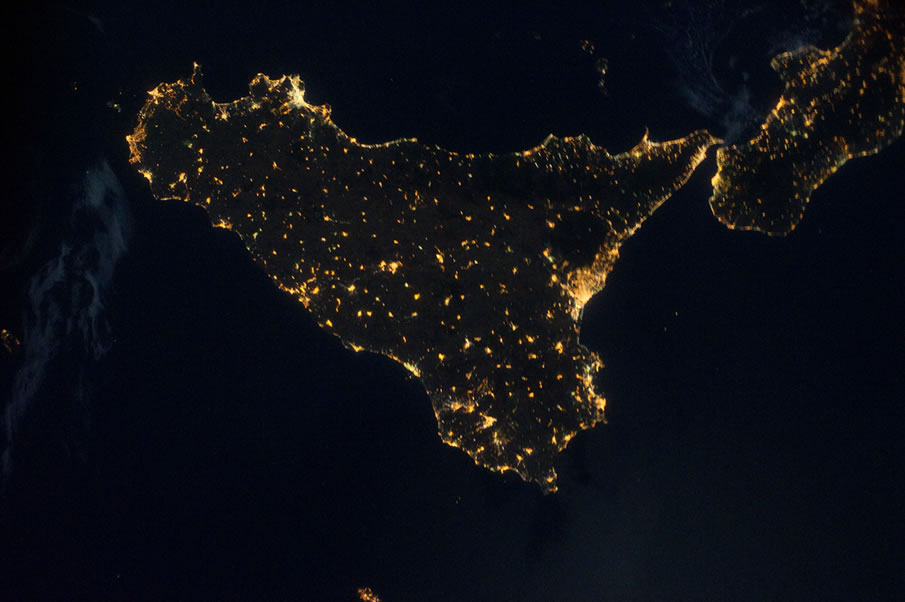 Sicily, Italy (NASA, International Space Station)