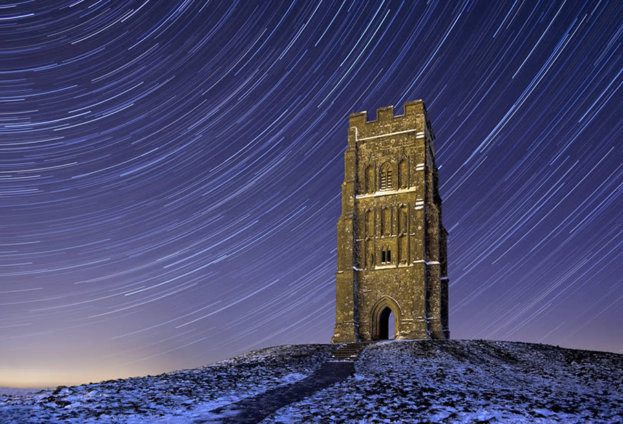 Glastonbury Tor Startrails