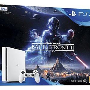 PS4 500 GB White Star Wars Battlefront II Bundle
