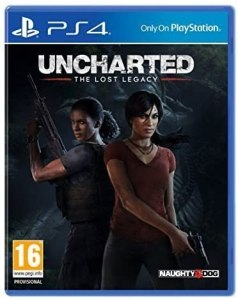 Uncharted: The Lost Legacy Gaming CD for Play Station 4 (PS4)