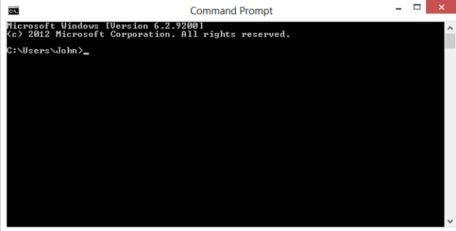 Creating New File in Command Prompt