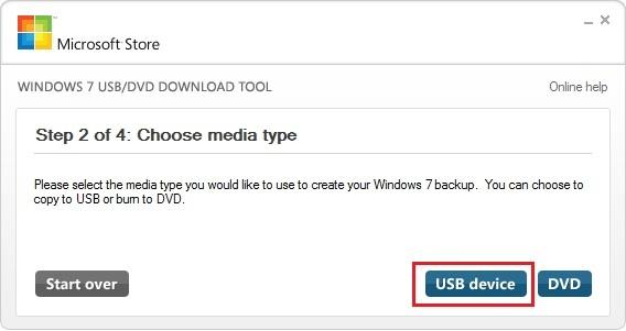install windows 7 from usb