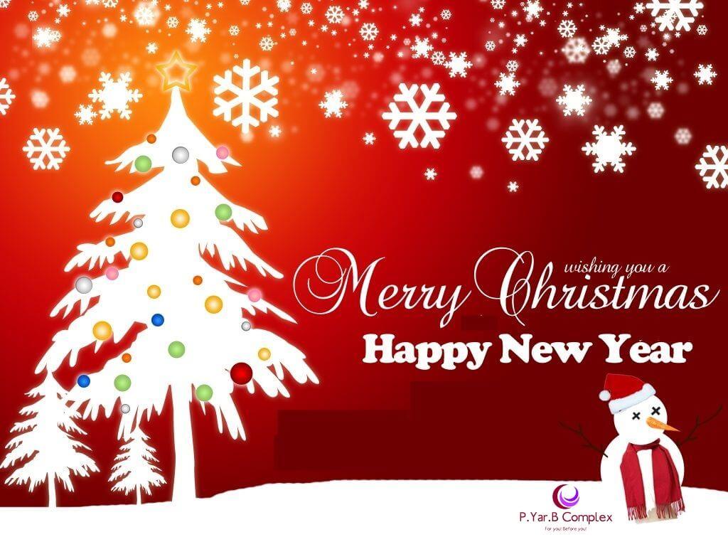 Season\'s Greeting - Merry Christmas & Happy New Year 2016 – PRB