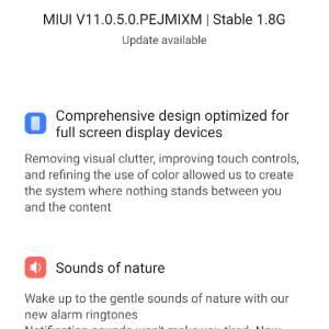 MIUI 11 for Poco F1 - V11.0.5.0.PEJMIXM