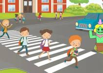 Essay On Road Safety In English For Student And Children's
