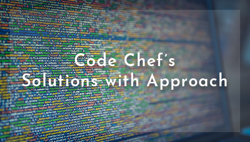 Code Chef Solution