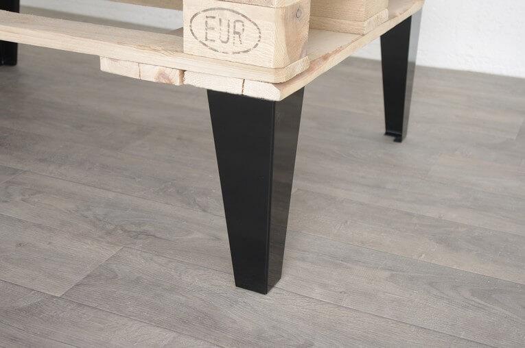 pied de table basse style industriel 30cm ou 40cm ref vest30 40