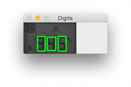 Recognizing digits with OpenCV and Python – InsideNothing