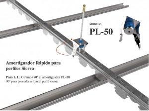 AMORTIGUADOR RÁPIDO PARA PERFILES SIERRA