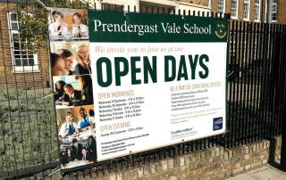 Prendergast Vale School in London Open Days banner