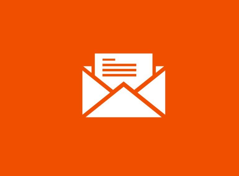Informes incidencias con el correo electrónico