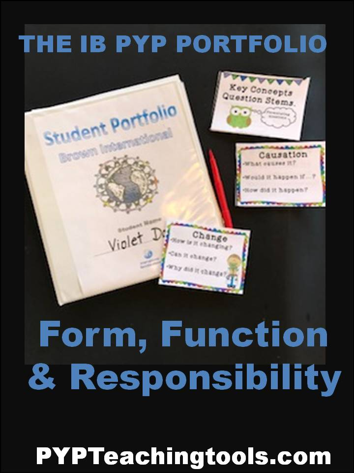 The IB PYP Student Portfolio | PYP Teaching Tools