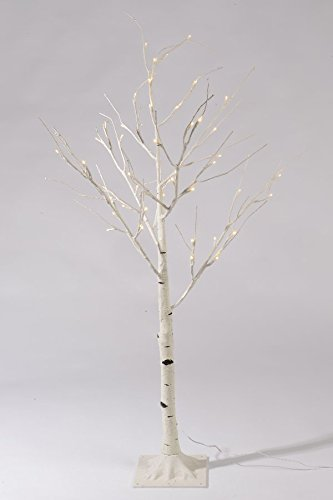 birch pre-lit christmas tree
