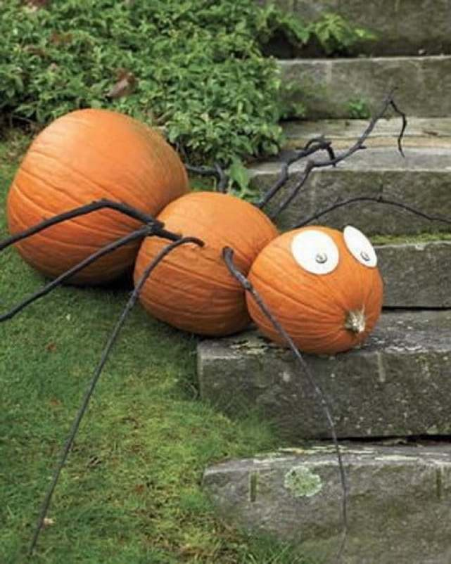 Forget 'Spiderman' this is Spider Pumpkin