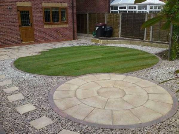 Low maintenance garden design tips and ideas for for Large low maintenance garden