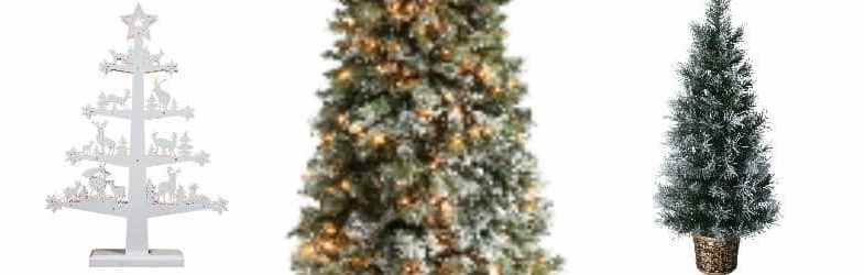 7 of The Best White Christmas Trees For 2017