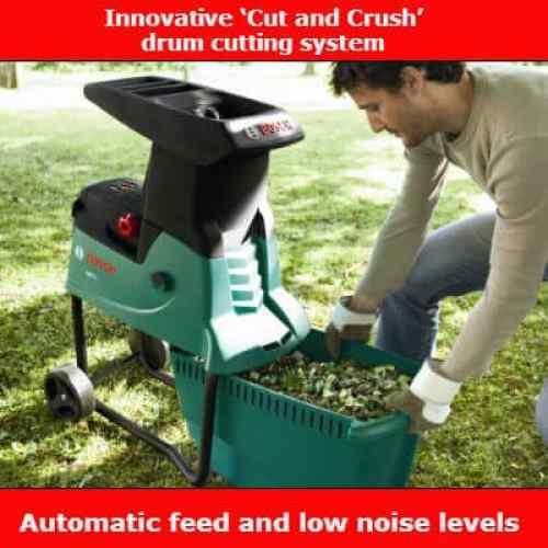 Bosch AXT 25 D Quiet Shredder review
