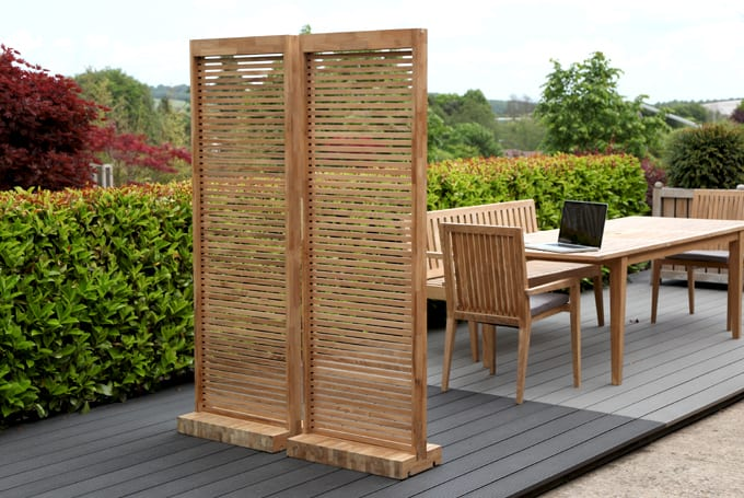 High Quality Garden Screen Made From One Panel