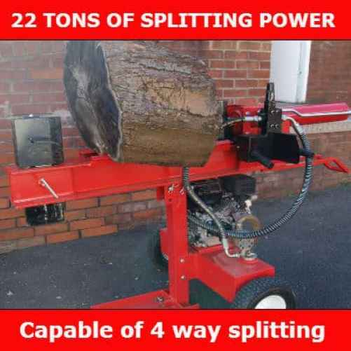 Forest Master 22 ton petrol log splitter review