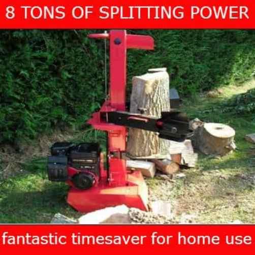 Titan pro petrol 7 ton log splitter
