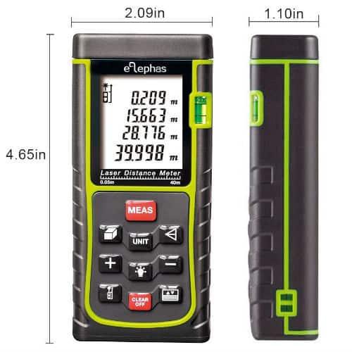 ELEPHAS Digital distance laser meter review