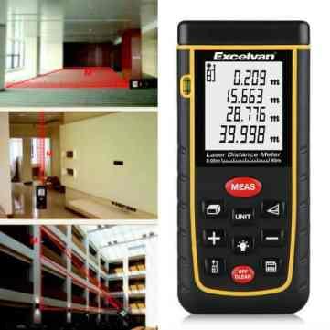 Excelvan laser tape measure review