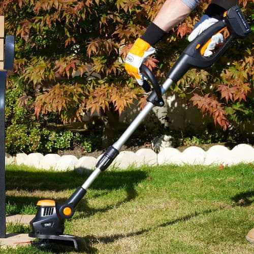 Vonhau 20v coless-battery-grass-strimmer - Best entry level model for small gardens