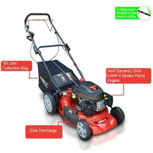 Frisky Fox PLUS 20inch lawn mower review - Our Best Pick - Great all round lawnmower with superb build quality