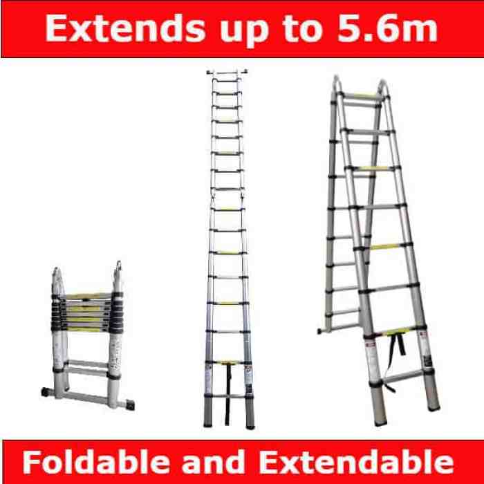 WORHAN 5.6m telescopic folding ladders review - Best for professional use