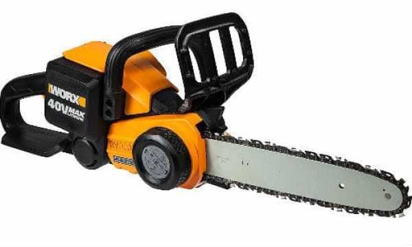 Worx WG368E 40v Cordless Chainsaw review