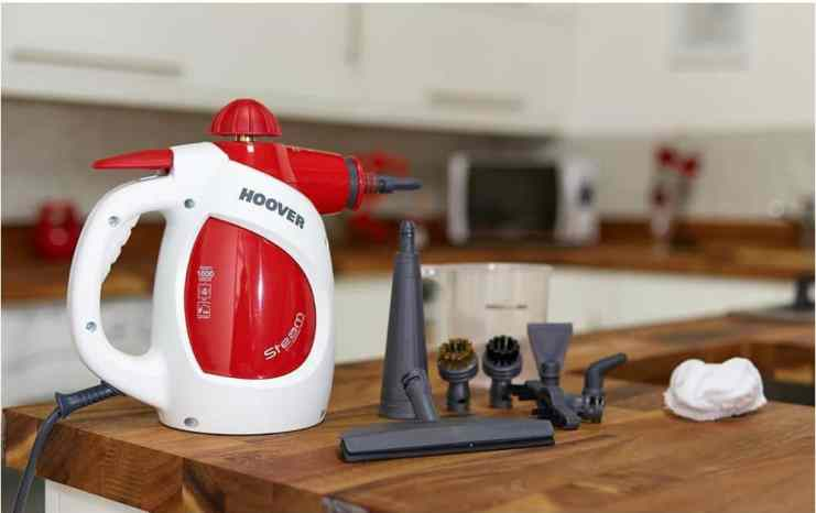 Best Handheld Steam Cleaner Review - Hoover SSNH1000 Steam Express Handheld Steam Cleaner Review