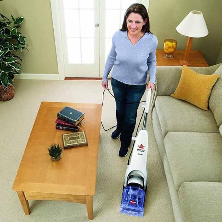 BISSELL 90D3E Cleanview Quickwash Carpet Cleaner - best carpet shampooer