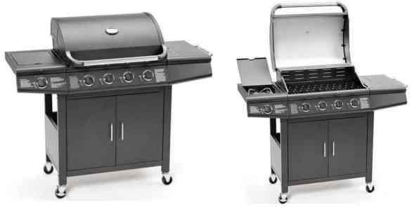 FirePlus 4+1 Gas Burner Grill BBQ Barbecue review - Best Seller