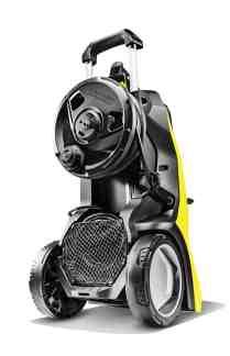 Karcher K7 pressure Washer rear