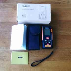 Tacklife laser distance measurer whats included.