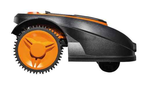 WORX WG790E Robotic Lawn Mower side view