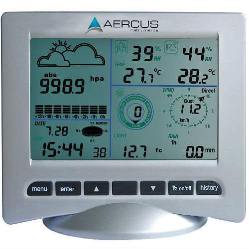 Aercus Instruments Weather Station Wireless WS3083 screen