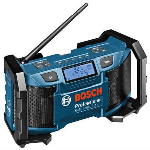 Bosch Professional GML SoundBoxx Cordless Jobsite Radio Review
