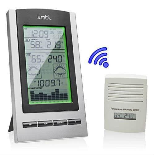 Jumbl Wireless Indoor & Outdoor Digital Weather Station review