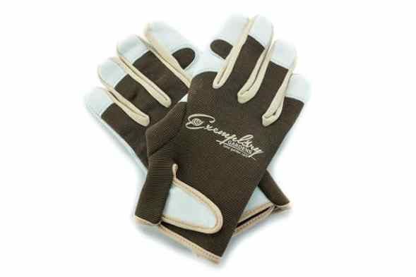 Leather Gardening Gloves for Women and Men by Exemplary Gardens