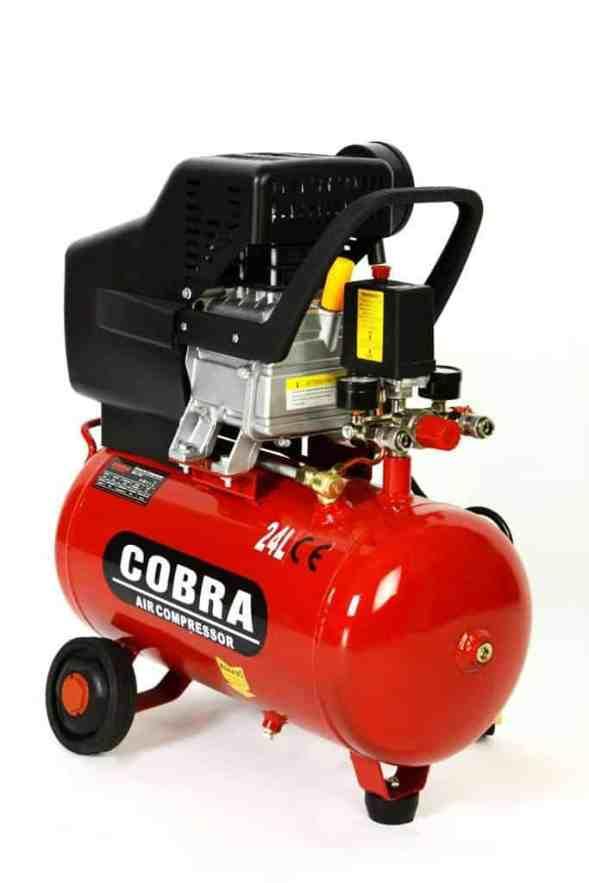 COBRA AIR TOOLS 25L LITER AIR COMPRESSOR WITH FREE 5 PCS KIT