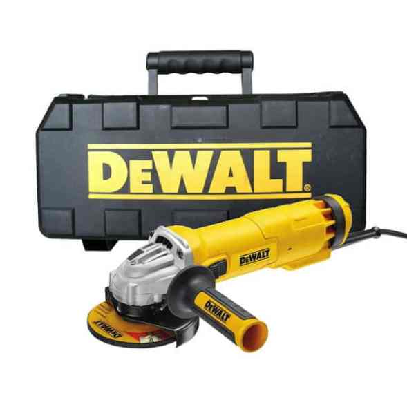 DEWALT DWE4206K 115 mm Mini Grinder With Kitbox