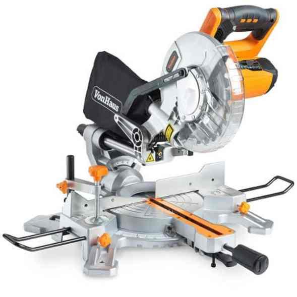 "VonHaus 1500W 8"" (210mm) Sliding Mitre Saw Review"