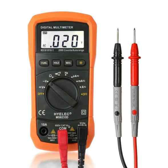 Best Budget Multimeter - Crenova MS8233D Multimeter Review