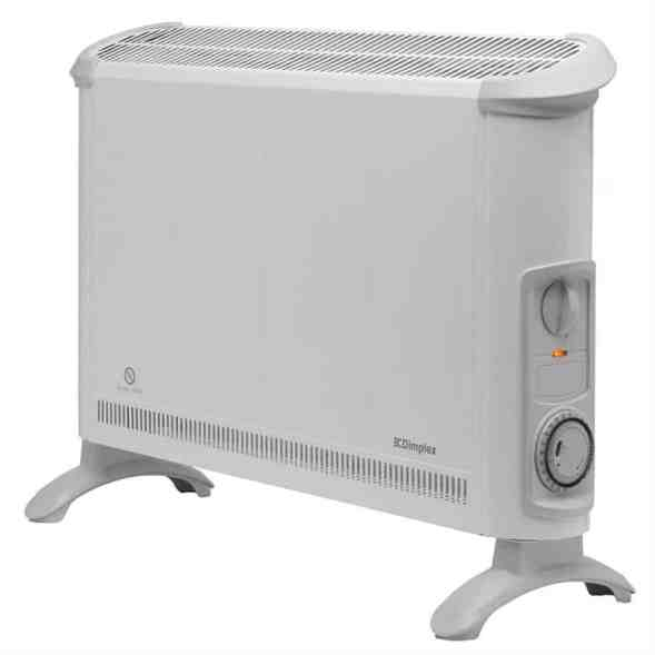 Dimplex Convector Heater with Thermostat and Timer 2 Kilowatt