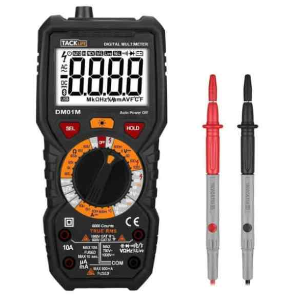 Tacklife DM01M Advanced Multimeter Review