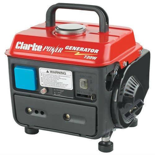 Clarke G720 Petrol Generator 720W Review