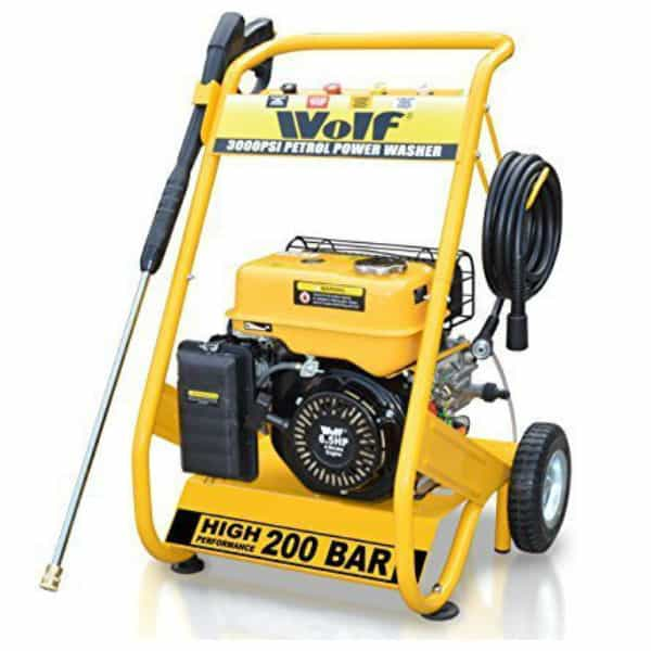 WOLF 6.5HP Heavy Duty Petrol Driven Pressure Power Washer Review